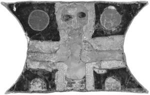 goud-email-cloisonné uit het centrale reliekgraf van de basiliek te Sint Odiliënberg