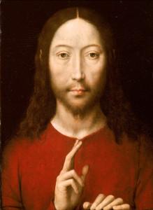 HansMemling-Christusgeeftzijnzegen